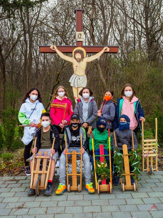 Ratschenkinder in Mannsdorf