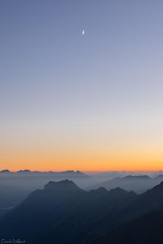 Mondsichel, Berge, Brienzer Rothorn