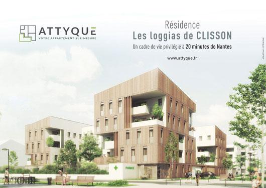 Les Loggias de Clisson, 48 logement dont 5 en attique