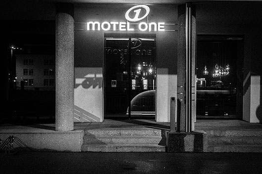 Motel One Mirabell, Salzburg at night