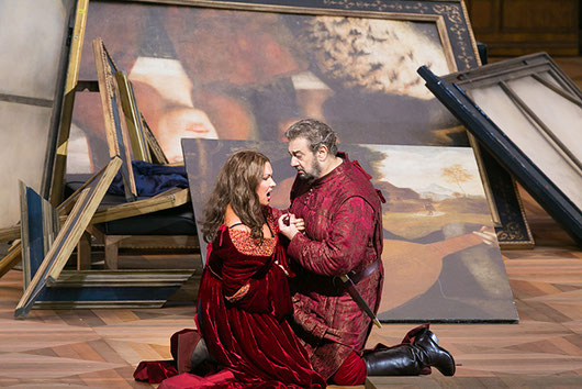 Salzburg Festival, 2014: Anna Netrebko and Placido Domingo in Il Trovatore