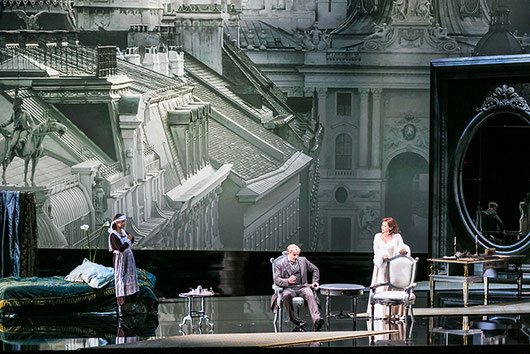 A scene from Rosenkavalier at the Salzburg Festival 2014