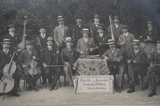 Musik- und Gesangverein Pöllau - Foto 1913