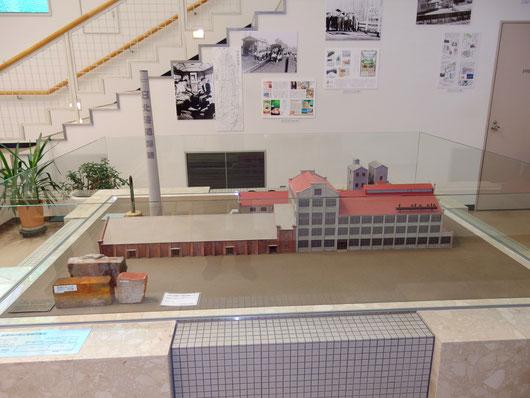 旧帯広製糖所 模型