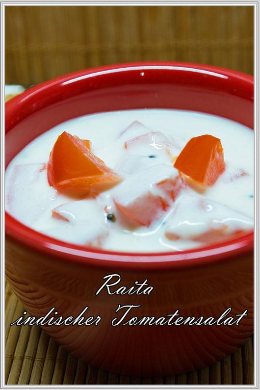 Raita-Indischer Tomatensalat Rezept © Jutta M. Jenning mjpics