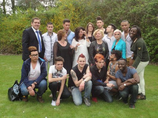 élèves-professeurs à Oudenaarde