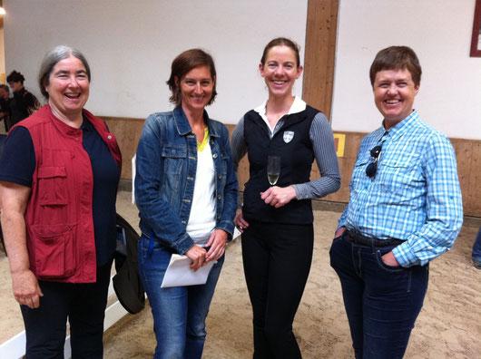Alexandra Kurland, Michaela Hempen, Vera Munderloh, Marla Foreman (and Mary Concannon behind the camera) - 2016