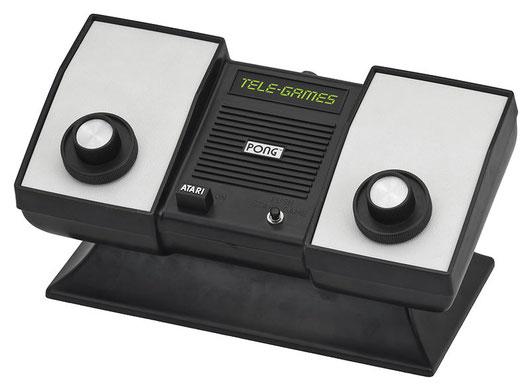 Sears Tele-Games Atari Pong (1975), la primera consola de Atari