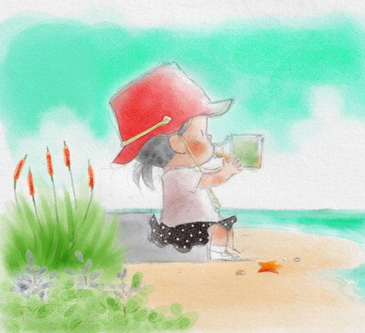 「デジタル画はじめました」/子どもの本/児童書・児童文学・絵本のさし絵・イラスト