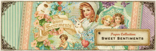 Graphic 45 Sweet Sentiments collection