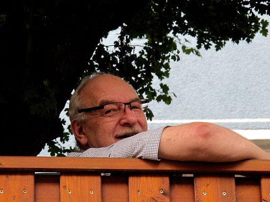 Werner Götzl meinte so nebenbei, dass es am Nachmittag noch viel Regen geben würde