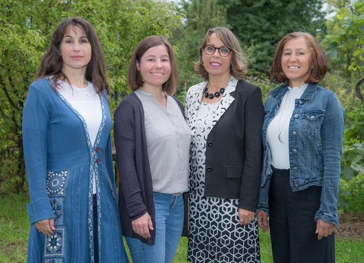 von links: VOL Dagmar Neuhold, VD OSR Gabriele Winkelhofer, MA, VOL SR Renate Bauer-Fuchs, vVL Elisabeth Giglinger