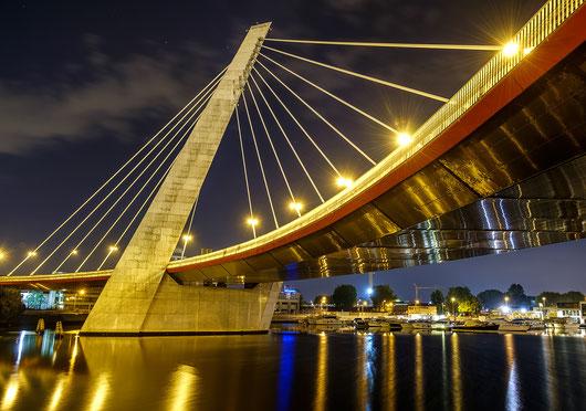 Ponte strallato, Porto Marghera, Italia