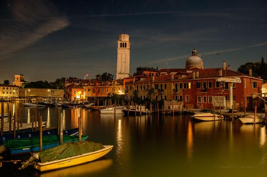 veduta dal Ponte di Quintavalle, Venezia, Italia