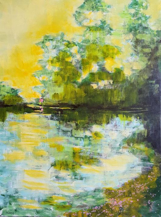 bernadette leclercq art tableau paysage