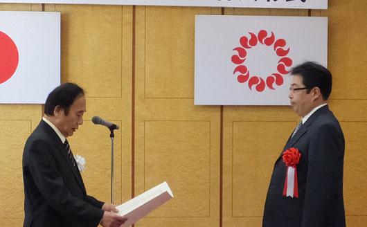 上田清司埼玉県知事でございます。