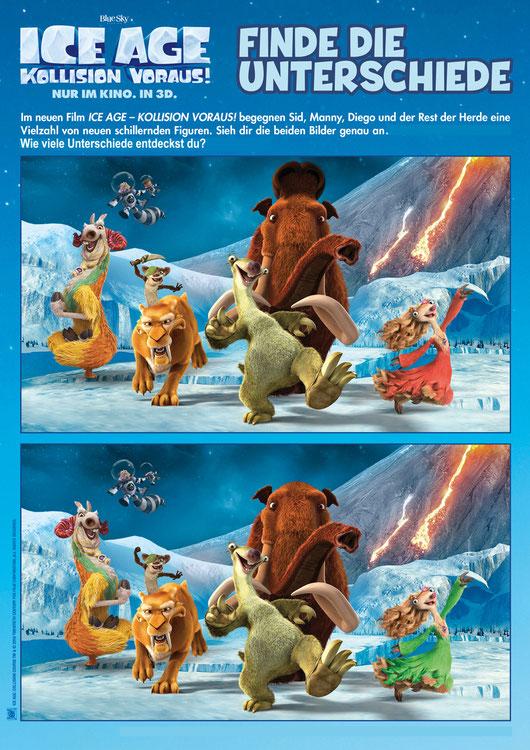 Ice Age 5 Gewinnspiel - Kollision Voraus - 20th Century Fox - kulturmaterial