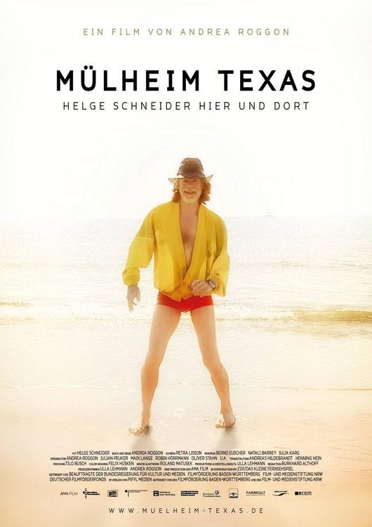 Movie poster - Mülheim Texas - Andrea Roggon - Helge Schneider