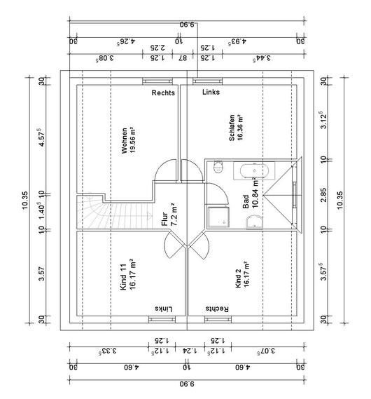 DG Hauptwohnung (klick vergrößern)