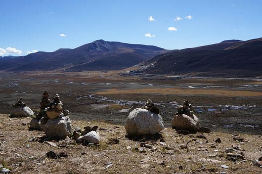 L'ancienne vallée glaciaire