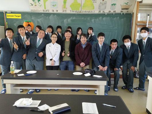 岐阜県を代表するスイーツ作りに挑戦