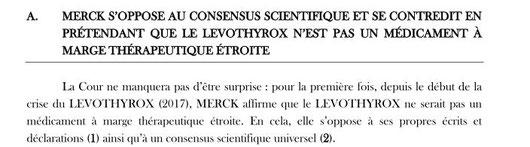 extrait Merck Levothyrox