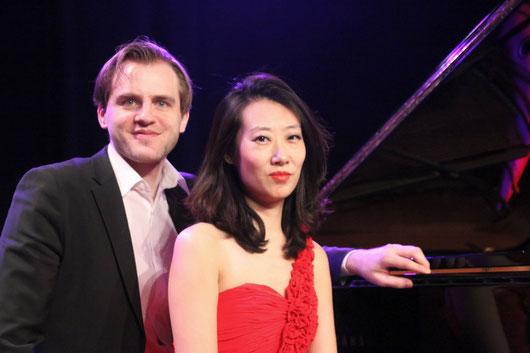 Xin Wang und Florian Koltun. Foto: F. Christgen