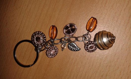 ©St-Asp: Schlüsselanhänger mit Zwirnknöpfe