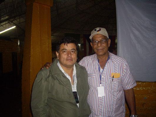 José Antonio Gomez con César Garay (Gallos & Gallos)