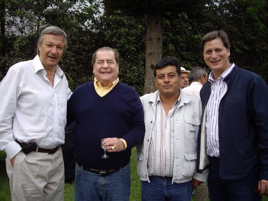 Luis Antonio; Edmon Elias; César Garay (Gallos & Gallos); Edmoncito