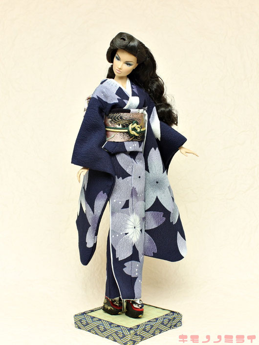 Fashion Royalty kimono,Fashion Royalty着物,Agnes,Integrity