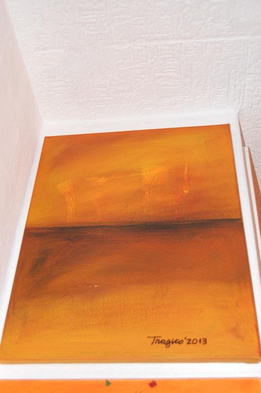 ACRYL / Leinwand/Keilrahmen / 50 * 70 cm