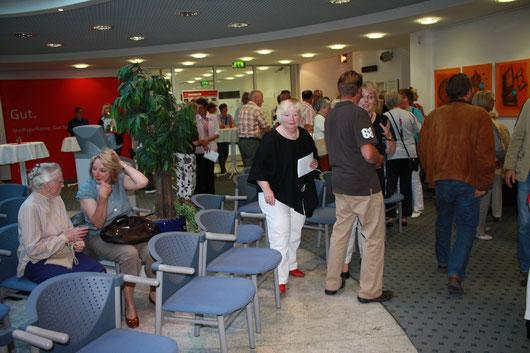 MAI 2011  Kunst-Ausstellung /Winston Tragico in der Stadtsparkasse Bad Sachsa