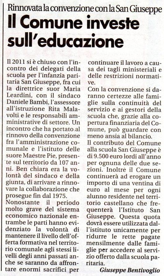 dal Nuovo Diario del 14.01.2012