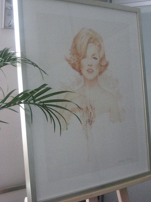 Marylin Monroe by Joachim Thiess - Original zu verkaufen