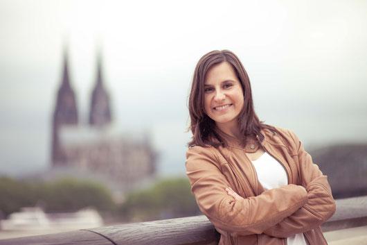 Sängerin Jennifer Boldt in Köln