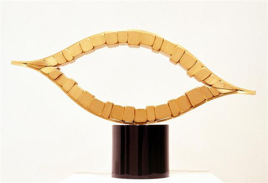 Arc No.1 <No.A-01>  / 1993 /  brass (真鍮) / H.42x70x15cm