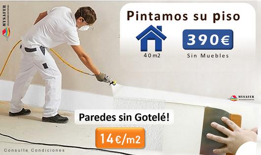 Pintar precio casa Madrid pintura pintores en Aluche