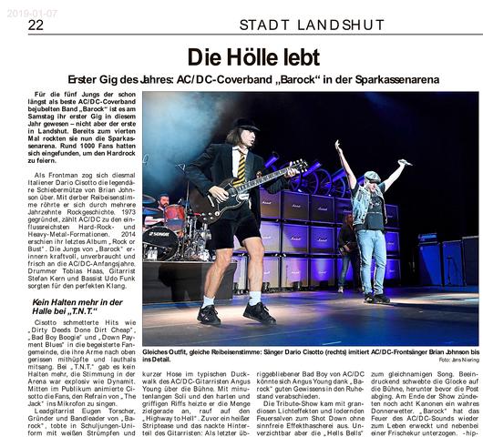 BAROCK ACDC tribute Landshut 2019 LAZ