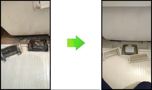 浴室排水溝清掃(株式会社リバイブ)