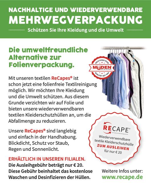 mueden.de, Verpackung, Bild Flyer von Mehrwegverpackung