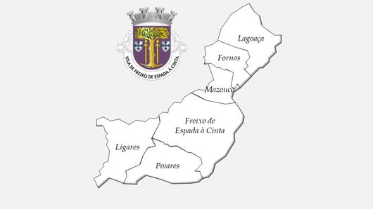 Freguesias do concelho de Freixo de Espada à Cinta antes da reforma administrativa de 2013