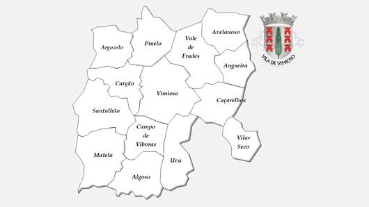 Freguesias do concelho de Vimioso antes da reforma administrativa de 2013