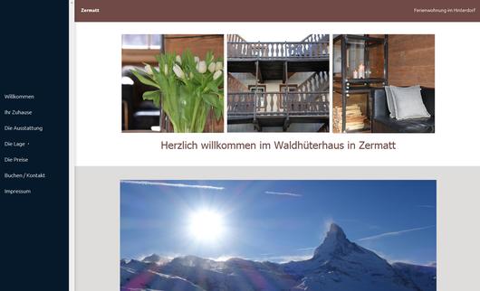 Ferienwohnung Waldhüterhaus in Zermatt