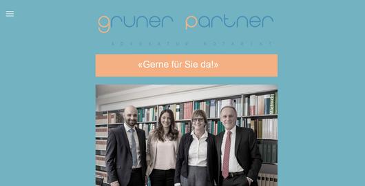 Gruner Partner - Advokatur / Notariat