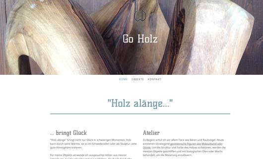 Holz - verarbeitet von Walter Diener, Thunstetten