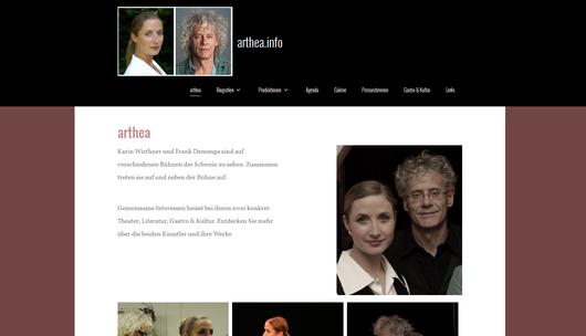 arthea.info - Theater / Literatur / Gastro