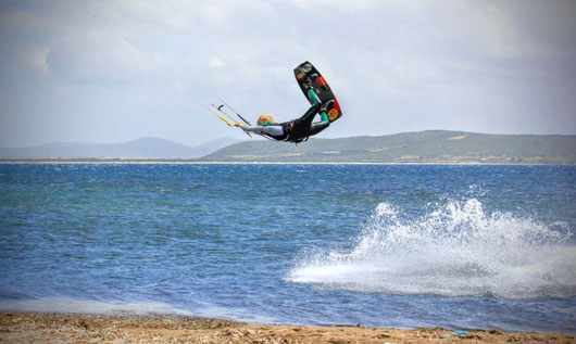 unhooked Freestyle Kitesurfen