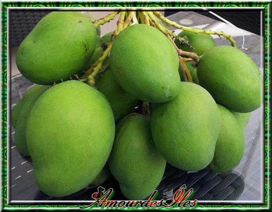Rougail de mangues vertes...
