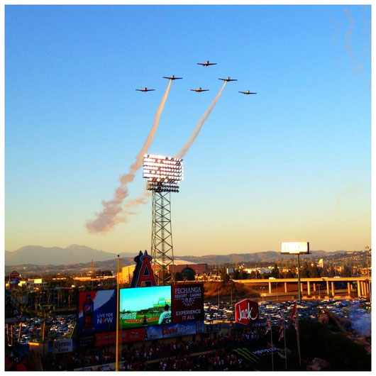 Angels Stadium April 9, 2013